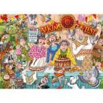 Puzzle  Jumbo-19113 Wasgij Original 23 - Die Tortenschlacht!