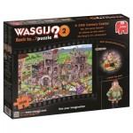 Puzzle  Jumbo-19123 Wasgij Back to... 2 - Eine Burg im 14. Jahrhundert!