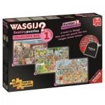 Jumbo-19124 3 Puzzles - Wasgij Destiny - Collector's Box 1