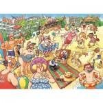 Puzzle  Jumbo-19128 Wasgij 24 - Ein toller Urlaub