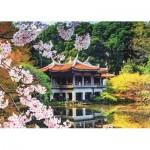Puzzle   Blüten in Japan