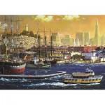 Puzzle   Hafen von San Francisco, USA
