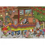 Puzzle   Jan Van Haasteren - Chinesisches Neujahrsfest