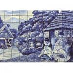 Puzzle   Portugiesische Fliesen aus Funchal