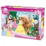 Puzzle  King-Puzzle-05160-B Disney Prinzessinnen