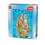 Puzzle  King-Puzzle-05184 Comic Collection - Neuschwanstein