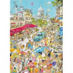 Puzzle  King-Puzzle-05185 Comic Collection - Paris, Frankreich