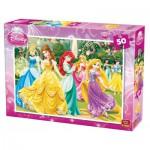 Puzzle  King-Puzzle-05280-A Disney Prinzessinnen