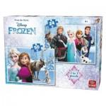 King-Puzzle-05413 2 Puzzles - Frozen