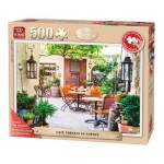Puzzle  King-Puzzle-05532 XXL Teile - Café Terrace in Europe