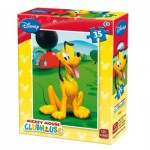 King-Puzzle-5166-F Mini Puzzle - Mickey Mouse Club House