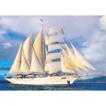 Puzzle  KS-Games-11245 Tall Ship under Sail