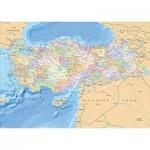 Puzzle  KS-Games-11331 Karte der Türkei
