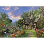 Puzzle  KS-Games-11355 Dominic Davison: Das alte Landhaus am Ufer