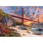 Puzzle  KS-Games-11374 Dominic Davison: Golden Gate