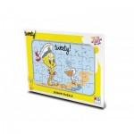 KS-Games-TW704 Rahmenpuzzle - Tweety