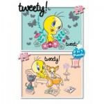KS-Games-TW741 2 Puzzles - Tweety