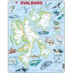 Larsen-A1 Rahmenpuzzle - Svalbard, Norwegen