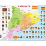 Larsen-A29 Rahmenpuzzle - Katalonien (auf Katalanisch)