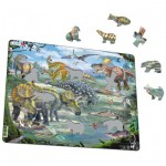 Larsen-FH31 Rahmenpuzzle - Dinosaurier