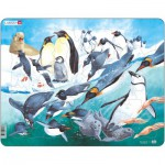 Larsen-FH7 Rahmenpuzzle - Pinguine