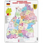 Larsen-K22 Rahmenpuzzle - Bundesland: Baden Württemberg