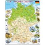 Larsen-K72 Rahmenpuzzle - Unterwegs in Deutschland