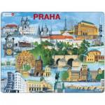 Larsen-KH12 Rahmenpuzzle - Prag