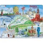 Larsen-KH14 Rahmenpuzzle - Der Kreml