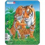 Larsen-V4-2 Rahmenpuzzle - Tiger