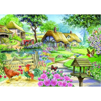 Feens Country Living : Puzzle XXL Teile - Cottage - Country Living The-House-of ...