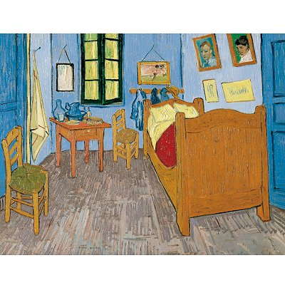 Puzzle Vincent van Gogh: Schlafzimmer in Arles Clementoni-33535 3000 ...