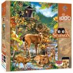 Puzzle  Master-Pieces-71534 Peek Season - Family Gathering