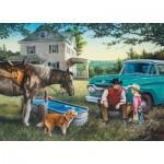 Puzzle  Master-Pieces-71647 Cowboy Dreams