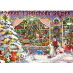 Puzzle  Master-Pieces-71675 Merry Christmas Shop