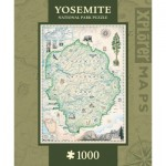 Puzzle  Master-Pieces-71699 Xplorer Maps - Yosemite