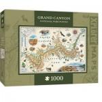 Puzzle  Master-Pieces-71702 Xplorer Maps - Grand Canyon