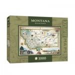 Puzzle  Master-Pieces-71708 Xplorer Maps - Montana