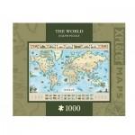 Puzzle   Xplorer Maps - The World