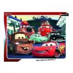 Nathan-86121 Rahmenpuzzle - Cars