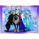Puzzle  Nathan-86522 Disneys Eiskönigin - Ein starkes Team