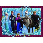 Puzzle  Nathan-86723 Disneys Eiskönigin - Familienfoto