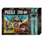 Puzzle  Noris-606031245 V8 Du willst der Beste sein - Die Boliden