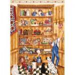 Puzzle  Cobble-Hill-51710 Shelley McVittie: Die Speisekammer