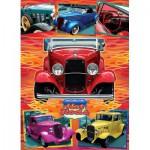Puzzle  Cobble-Hill-51750 Lorne Miller: Hot Rods