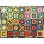Puzzle  Cobble-Hill-51776 Granny Squares