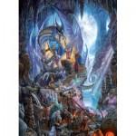 Puzzle  Cobble-Hill-51807 Matthew Stewart - Dragonforge