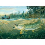 Puzzle  Cobble-Hill-51849 Muskie Bay