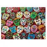 Puzzle  Cobble-Hill-51859 Sugar Skull Cookies