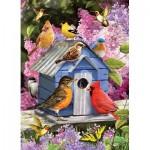 Puzzle  Cobble-Hill-51868 Spring Birdhouse